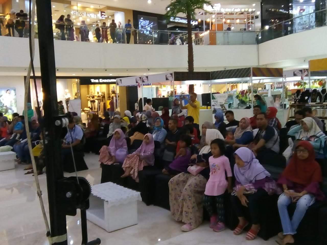 Pengunjung BTME 2018 di CCM